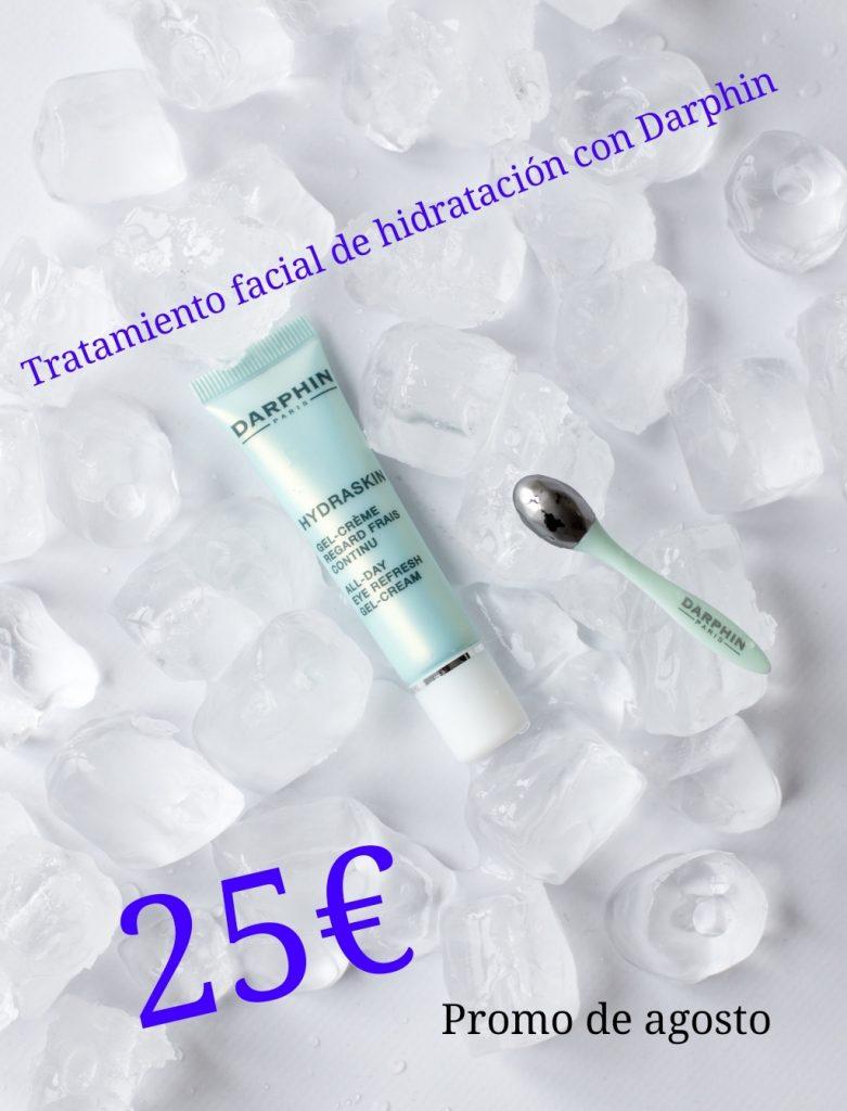 CEOCAN Tratamiento facial hidratación Darphin Hydraskin